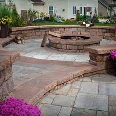 Traditional Firepits by Blue Max Materials
