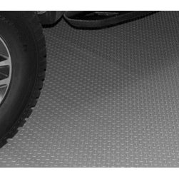 Auto Care Products, Inc. - Small Car Mat, 7.5' x 14', Metallic Graphite - • Commercial/Industrial Grade