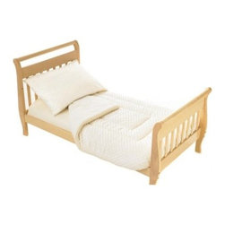 American Baby Company Heavenly Soft Toddler Bed Bedding Set - Various Colors - What We Like About the Heavenly Soft Toddler Bed Set This classic toddler bedding set is a soft and cozy must-have for your little one's bedroom. Available in several color options this is an easy way to match your toddler's bedding.