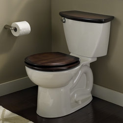 """American Standard Cadet 3 Right Height Round Toilet 10"""" Rough - Smarter design for higher performance and fewer clogs – all at a great price. The Cadet® 3 series toilets come in a variety of styles; one piece and two piece models, elongated and round front bowls, right height and compact versions and even water efficient models that flush on just 1.28 gallons per flush. The Cadet 3 is a hard working versatile series with superior performance."""