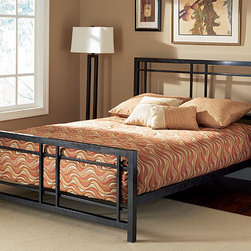 None - Bryant King-size Bed - Complete your bedroom collection with this Bryant king-size bedFashionable bed is made of sturdy and durable metal with a luxurious finishElegant bed design is sure to enhance any bedroom decor