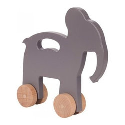 Elephant Push Toy - Start young with this adorable, eco-friendly toy. Ever since Babar, I've loved elephants and this is a fun toy with great design.