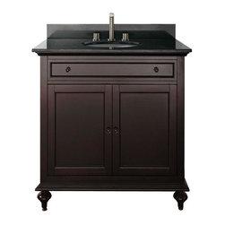 "Avanity - Avanity Merlot 30 Vanity Cabinet Only, Espresso (MERLOT-V30-ES) - Avanity MERLOT-V30-ES Merlot 30"" Vanity Cabinet Only, Espresso"