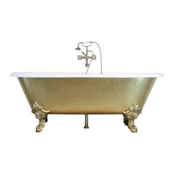 """Penhaglion - 'The Balmoral' 73"""" Cast Iron Double Ended Clawfoot Tub Package from Penhaglion - Product Details"""