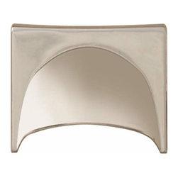 Hafele - Hafele: Cup Handle: Zinc: Polished Nickel: M4: Center To Center 96mm - Hafele: Cup Handle: Zinc: Polished Nickel: : Center To Center 96mm