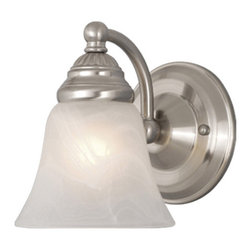Vaxcel - Standford Wall Sconce - Vaxcel WL35121BN Standford Brushed Nickel Wall Sconce