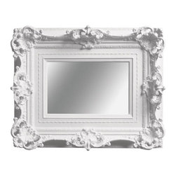 My Brother's Mirror - This is still one of my favorite Baroque reproductions with a modern twist. This would look fantastic in a modern interior.
