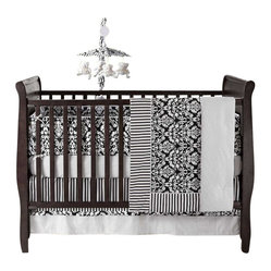 Taylor 4-Piece Crib Bedding Set by Bananafish
