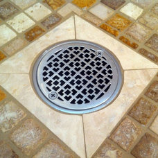 Traditional Bathroom by Designer Drains