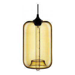 Niche Modern - Pod Pendant - Hand blown glass prevents any one fixture from being exactly like, but each is beautiful in it's own way.