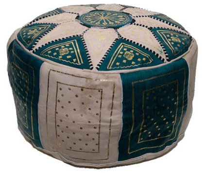 Mediterranean Footstools And Ottomans by MoraCo Imports