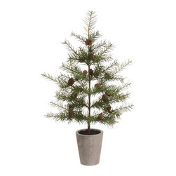 Silk Plants Direct - Silk Plants Direct Douglas Fir Tree (Pack of 2) - Silk Plants Direct specializes in manufacturing, design and supply of the most life-like, premium quality artificial plants, trees, flowers, arrangements, topiaries and containers for home, office and commercial use. Our Douglas Fir Tree includes the following: