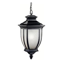 Kichler Lighting - Kichler Lighting 9843BK Salisbury 1 Light Outdoor Pendants/Chandeliers in Black - Outdoor Pendant 1Lt