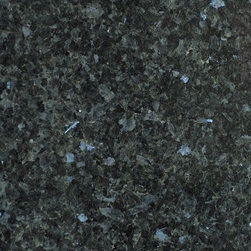 Emerald Pearl Granite - Deep Green with silver flakes.