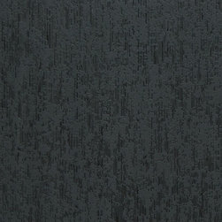 Walls Republic - Peeled Charcoal Wallpaper R2306, double roll - Peeled is striped wallpaper with an organic peeled pattern overlay. With fine metallic lines and a mix of geometric and organic patterning it creates a sophisticated relaxed atmosphere. It is an ideal choice for your dining and office spaces to create a vintage vibe.