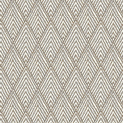 """Ballard Designs - Belize Taupe Fabric by the Yard - Content: 100% cotton. Repeat: Non-railroaded fabric with 8 1/4"""" repeat. Care: Dry Clean. Width: 55"""" wide. Cream and taupe geometric printed on supple 100% cotton. .  .  .  . Because fabrics are available in whole-yard increments only, please round your yardage up to the next whole number if your project calls for fractions of a yard. To order fabric for Ballard Customer's-Own-Material (COM) items, please refer to the order instructions provided for each product.Ballard offers free fabric swatches: $5.95 Shipping and Processing, ten swatch maximum. Sorry, cut fabric is non-returnable."""