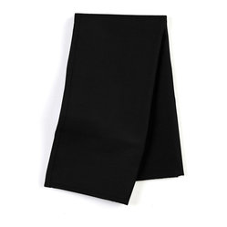 "Black Cotton Custom Napkin Set - Our Custom Napkins are sure to round out the perfect table setting""""_whether you're looking to liven up the kitchen or wow your next dinner party. We love it in this black classic cotton duck for a simple solid compliment."