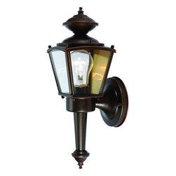 Rust Outdoor Patio and Porch Exterior Light Fixture - Finish: Rust