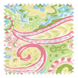 Doodlefish - Spring Paisley Doodlefish Fabric by the Yard - Spring Paisley Doodlefish Fabric by the Yard