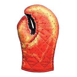 Boston Warehouse Lobster Claw Oven Mitt - Everyone needs one of these. Really. I'm on a personal mission to make it happen.