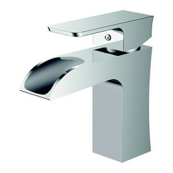 EVIVA - Eviva Jaida Single Handle Faucet, Chrome Finish - Eviva Jaida S Faucet is a Unique Square looking faucet, with a high quality brass construction. Moreover the chrome finish provides the Jaida Faucet with a very shiny & classy look that manifests the beauty of any countertop. All installment utilities are included with the product package, Lifetime Limited Warranty that assures the right quality for the price the consumers are paying. Brass Construction ensuring heavy duty use. The package includes two regular size hoses for hot and cold water, the faucet is 100% pressure tested.