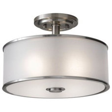 Bathroom Lighting And Vanity Lighting Casual Luxury Semi-Flushmount by Murray Feiss
