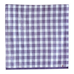 imabari towel group - Gingham Check Gauze Towel, Bath Towel - Purple shade of indigo in a tonal gingham check. We found this rustic pattern in our favorite gauze towel that will bring warmth and classic vintage appeal to your bathroom. Woven gauze on one side and lofty cotton pile on the other.