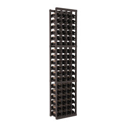 Wine Racks America - 4 Column Standard Wine Cellar Kit in Pine, Black + Satin Finish - Rock solid design from our unparalleled fabrication standards. We create superior racks from superior materials. We back that claim with a lifetime warranty and a cash back promise. Modular engineering enables hassle-free expansion and experimentation.