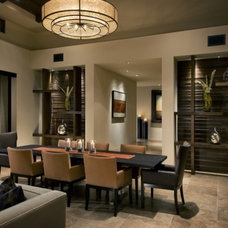 Asian Dining Room by Design By Kimberly Vaughan