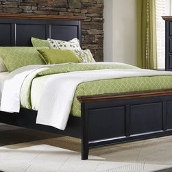 "Coaster - Mabel California King Bed - Discover modernized styling with the Mabel collection. Built with craftsmanship and constructed of solid wood and hand distressed finish to resemble real antiques. The Mabel bedroom collection creates an urban rustic design offering ample storage space and a gorgeous two-toned antique finish. Collection: Mabel; Style: Transitional; Finish/Color: Medium Oak/Black Sand Through; Box Spring Foundation required; Dimensions: 78.25""L x 86.50""W x 54.25""H"