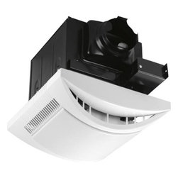 "Progress Lighting - Progress Lighting PV021-30WB 80 CFM Bath Fans in White PV021-30WB - 80 cfm bath fan. Sound level rating 1.0 sones. 13w GU24. Energy Star.Bulb Type: CFL GU24 base Collection: Bath Fans Energy Star Compliant: Yes Finish: White Height: 4 Lamp Wattage: 13W Number of Lights: 1 Socket 1 Base: GU24 Socket 1 Max Wattage: 13 Style: Traditional Suggested Room Fit: Bathroom Type: Bath Fans Weight: 13 Width: 12-5 8"" sq.{Performance at 0.1"" Ps Air Flow: 93 CFM (71 CFM at 0.25"" Ps) Fan Motor Speed: 1118 RPM Sound: 1.0 Sones Power: 27.2W {Trim Grille One piece white polymeric Mounts with two torsion springs to provide positive retention and eliminate ceiling gaps Dimensions: 12-5 8"" square, 4"" deep White acrylic diffuser {Housing Heavy gauge steel construction Black power coat painted finish Accommodates installation in 2x8 construction Mounts to ceiling or wall joists Galvanized steel construction Removable cover for access to wiring compartment 4"" round duct fitting for positive connection Inline damper prevents cold backdrafts Bar hangers span 24"" joist spacings in new construction Rigid steel rim accommodates remodel construction {Electrical 120v, 60Hz, 0.226A motor Permanently lubricated motor for continuous operation Plug in for ease of servicing Snaps in out for ease of cleaning and servicing-no screws Specially designed polymeric blower wheel Thermally protected cut-off circuitry {Lamping 13W GU24, 2700K Compact Fluorescent Lamp included Rated and labeled for use with maximum 26W GU24 CFL {Labeling UL-CUL listed for use over bathtubs and showers when connected to a GFCI protected branch circuit Energy Star qualified Suitable for us in insulated ceilings (IC), max 40C ambient, insulation type not to exceed R40 Air and Sound ratings are certified by HVI"