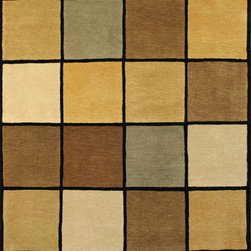 """Nepal, modern - Nepal Hand made Wool Rug 4' 1"""" x 6' 1"""" - Original Hand made rugs form michael rugs collections"""