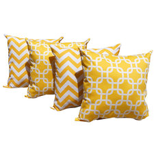Contemporary Pillows by Land of Pillows
