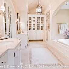 Traditional Bathroom by Dean J. Birinyi Photography