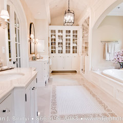 traditional bathroom by Dean J.Birinyi