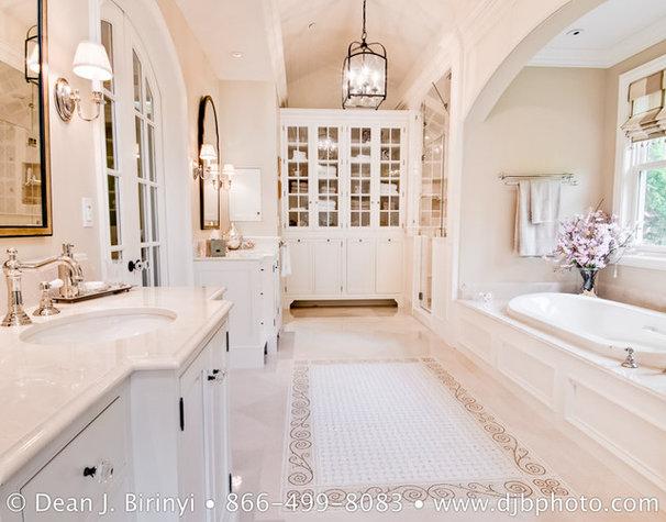 Traditional Bathroom by Dean J. Birinyi Photography