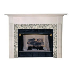 Agee Woodworks Milano Wood Fireplace Mantel Surround - About This Fireplace MantelWith fluted columns and subtle crown molding the Agee Woodworks Milano Wood Fireplace Mantel Surround is a stunning addition to your hearth. Assembly is a snap since most of it is complete out of the box. The final choices are left up to you this mantel ships unfinished ready to paint or stain and install. Choose between birch or oak solids in a wide selection of custom-cut sizes.About Agee Woodworks Inc.Ashland Va.'s Agee Woodworks Inc. focuses on three key manufacturing aspects: service quality and customization. Each handcrafted Agee fireplace mantel is made to order by one specific craftsman - and with a variety of value and custom options there's one for every budget. The highest-quality materials used - and individualized construction process during which a mantel's legs header and shelf are applied to a specified-size frame - ensure long-lasting one-of-a-kind products. Mantels can be primed painted or stained before delivery or can be shipped unfinished so customers can finish them at home.