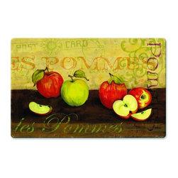 BuyMATS Inc. - Kitchen Cushion Apples Mat - • Kitchen comfort anti-fatigue mat.