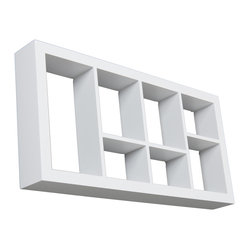Collins Display Shelf, White