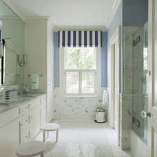 Traditional Bathroom by Liz Caan Interiors LLC
