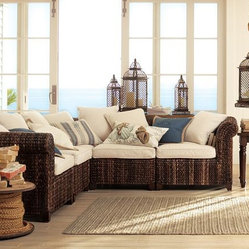 Seagrass Five-Piece Sectional