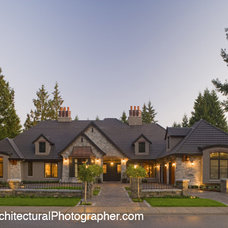 Traditional Exterior by kbcdevelopments
