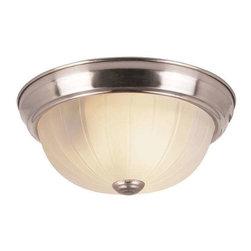 Trans Globe Lighting - Trans Globe Lighting 14010 BN Flushmount In Brushed Nickel - Part Number: 14010 BN