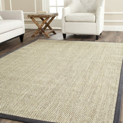 Safavieh - Safavieh Natural Fiber Marble/ Grey Sisal Rug (10' x 14') - Safavieh's Natural Fiber collection is inspired by timeless contemporary designs crafted with the softest sisal available.