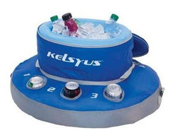 SwimWays Corp. - Kelsyus Floating Cooler - Kelsyus floating cooler will keep your drink within reach and cold at the same time.