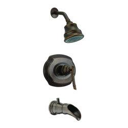 Pegasus - Pegasus Bamboo WaterSense 1-Handle Tub and Shower Faucets in Heritage Bronze - Bamboo WaterSense 1-Handle Tub and Shower Faucet in Heritage Bronze