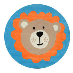 nuLOOM - NuLoom Hand-Tufted Little Bear Rug, Blue - Material: 100% Polyester