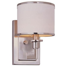 Soft Contemporary Sconce (2 finishes) - Shades of Light
