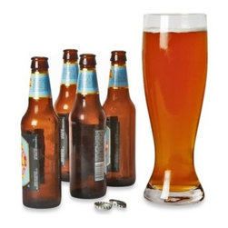 Decor Craft Inc. - DCI XL 52-Ounce Beer Glass - This abnormally large beer glass is designed to hold over 4 beers. Perfect for the avid beer drinker.