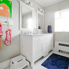 Transitional Bathroom by Kate Maloney Interior Design